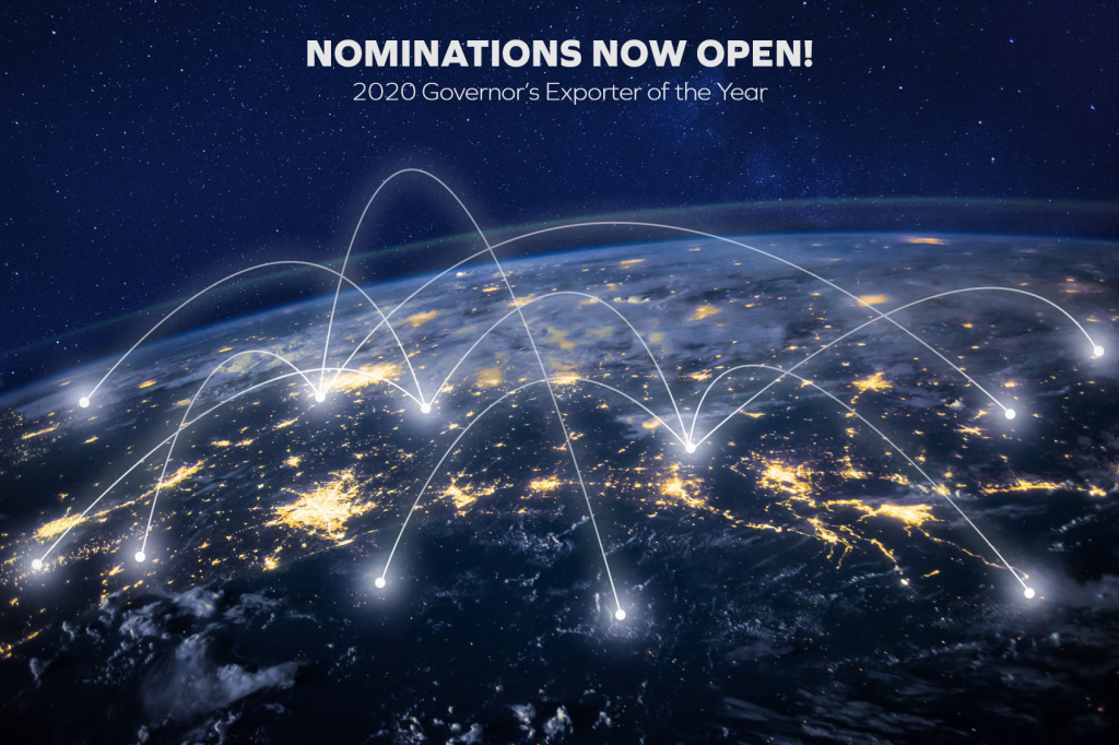 Nominations are open for 2020 Exporter of the Year