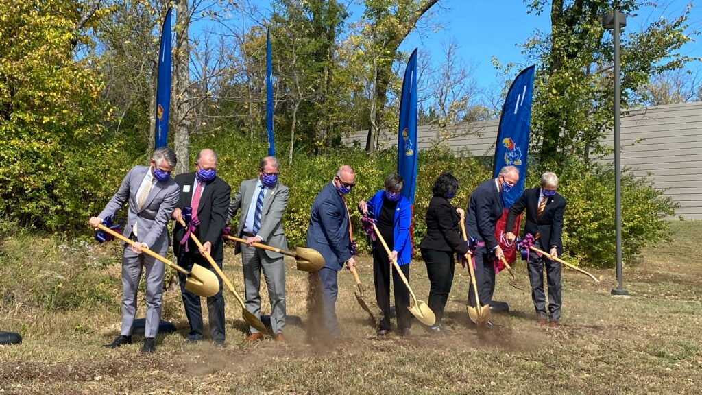 Kansas University Ground Breaking