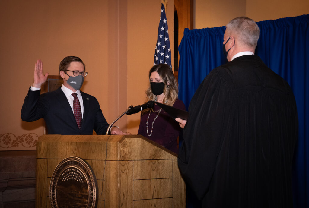 David Toland sworn in as 52nd Lieutenant Governor