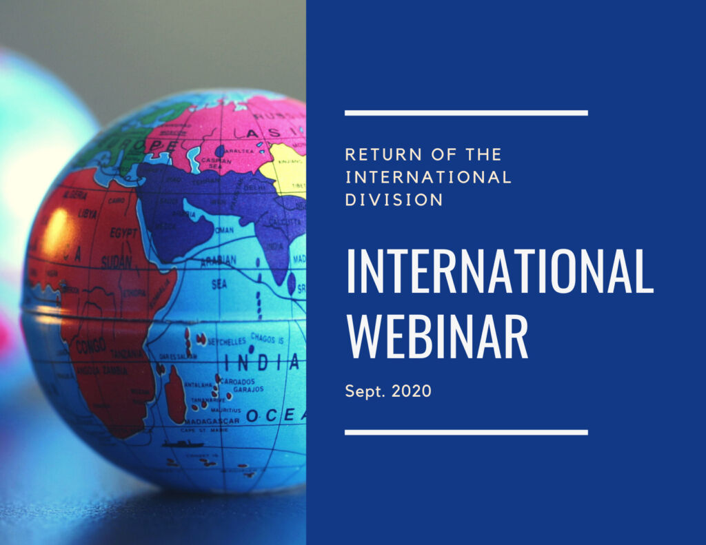 Featured Graphic International Webinar